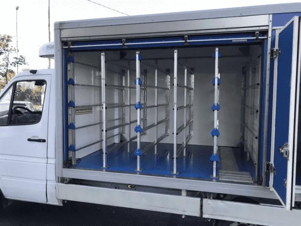 Mercedes sprinter frigorifer izoterma. Variante